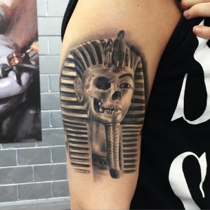 Cursed Pharaoh Tattoo