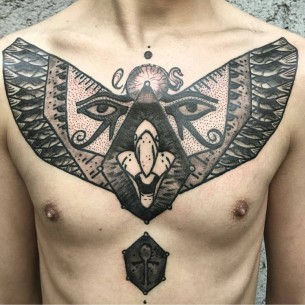 Egyptian Art Tattoo