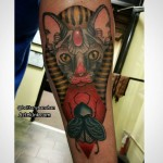 Egyptian Cat Tattoo