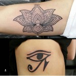 Egyptian Eye of Ra Tattoo
