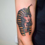 Egyptian Queen Tattoo by chilenovenegas