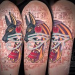 Egyptian Symbols Tattoo