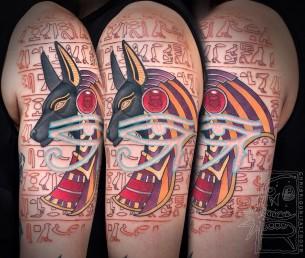 Egyptian Symbols Tattoo
