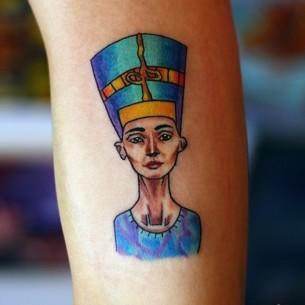 Egyptian Tattoo Art