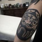 Elbow Tattoo Design by shutattooer