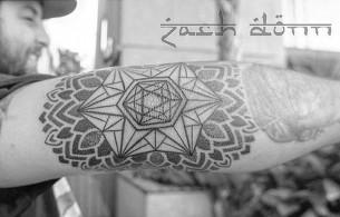 Elbow Tattoo by zachdonn