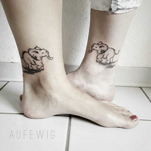 Elephant Tattoo Designs by aufewig.tattoo