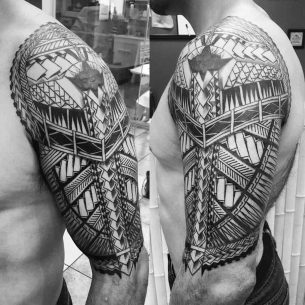 Half Tattoo Sleeve