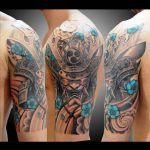 Hanya Mask Tattoo by koji_soul_tattoo