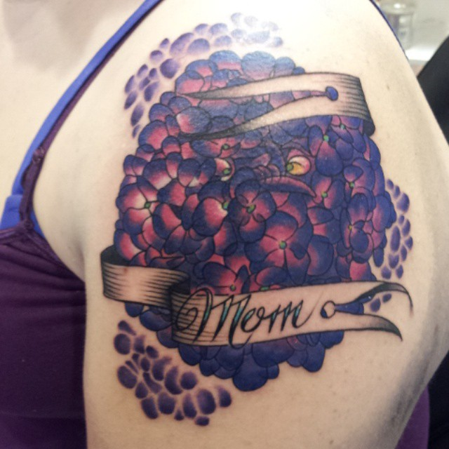In Memory Of Mom tattoo by Shannon Daley