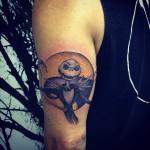 Jack Skellington Tattoo on Tricep