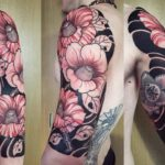 Japanese Half Sleeve Tattoo by gakkinx