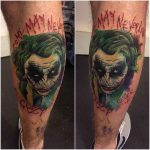 Joker Tattoo Design by kirstietattoo