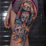 Kali Goddess Tattoo
