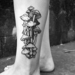 Mushrooms Tattoo by sweetleas