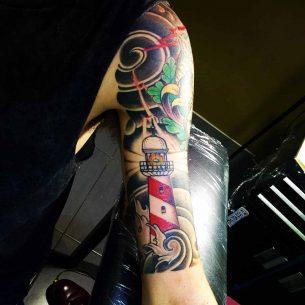 Nautical Tattoo Sleeve