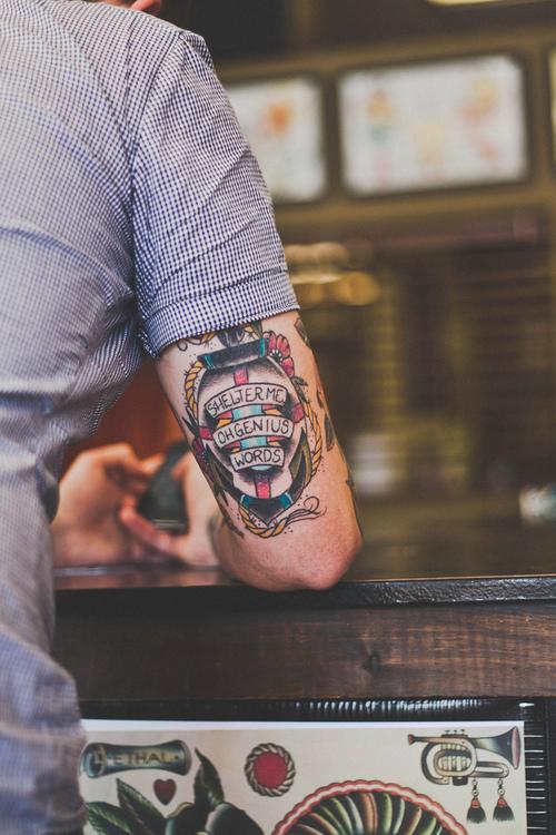 Nautical Tricep Tattoo