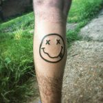 Nirvana Smiley Face Tattoo