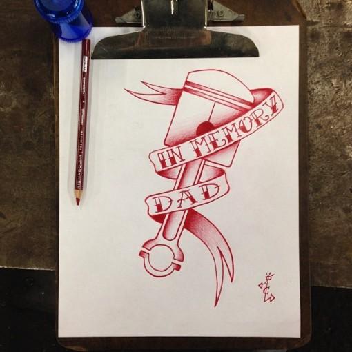 Piston Tattoo Design andrewlittlejohn84