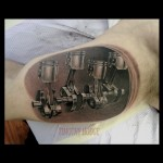 Pistons Tattoo