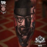 Portrait Tattoo Heisenberg