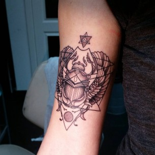 Scarab Tattoo
