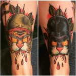 Shin Tattoo Designs