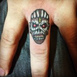 Small Finger Tattoo