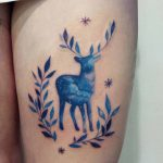 Space Deer Tattoo