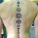 Spine Tattoo Designs