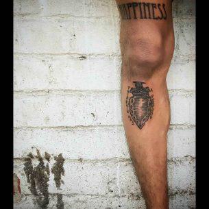 Stone Tip Tattoo
