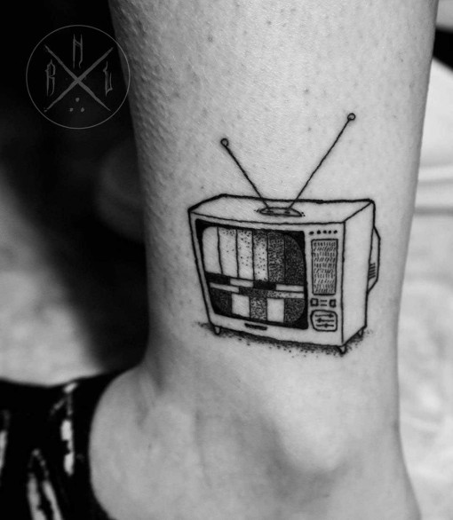 TV Tattoo by rnltattoo