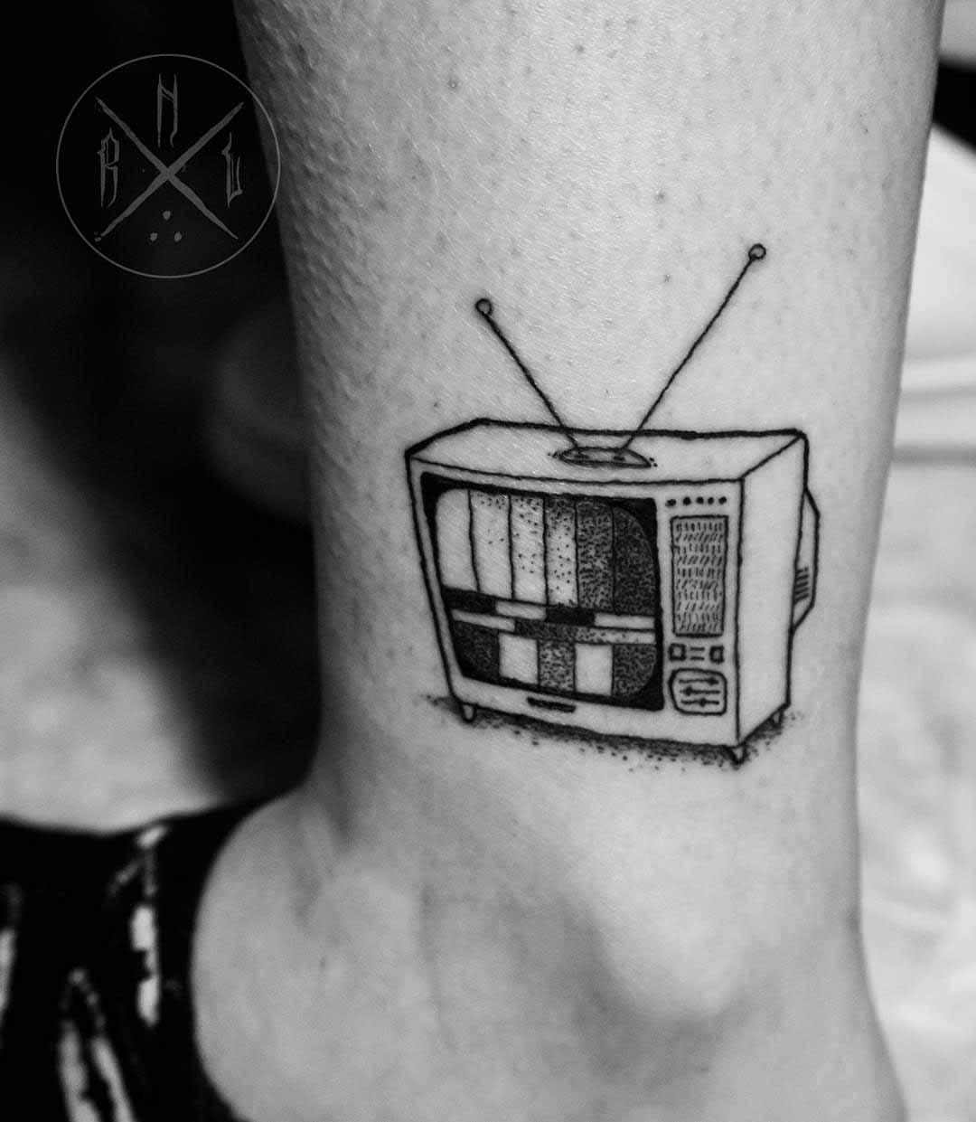 TV Tattoo by rnltattoo