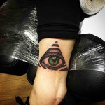 Tattoo Ankle by richiecustomink