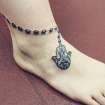 Tattoo Around Ankle