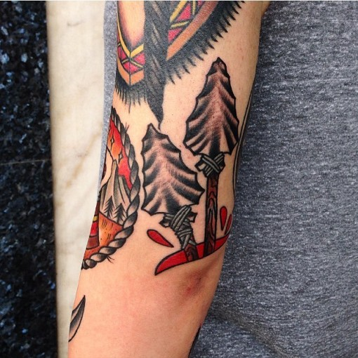 Tattoo Arrows by iris_lys