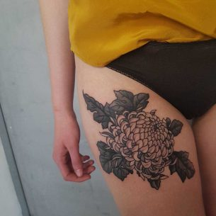 Tattoo Chrysanthemum