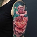 Tattoo Flowers Shoulder