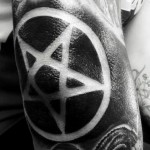 Tattoo Pentagram by chronicles_of_ink