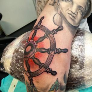 Tattoo Steering Wheel