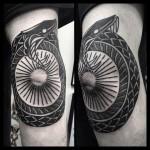 Tattoo of Ouroboros