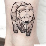Tattoo on Ankle