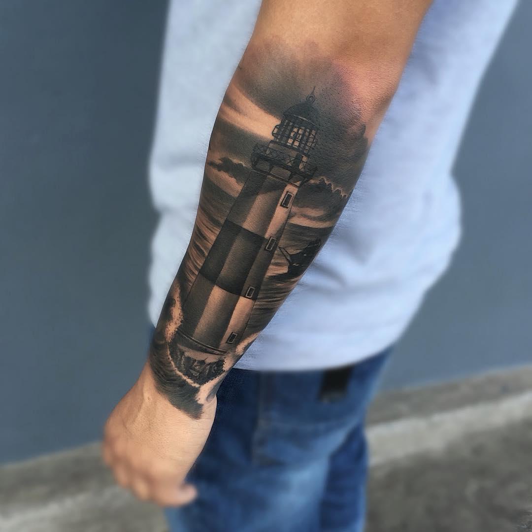 Wrist to Elbow Tattoo by Gabrielinkaholik