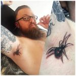 3D Spider Tattoo by truelove_tattoo