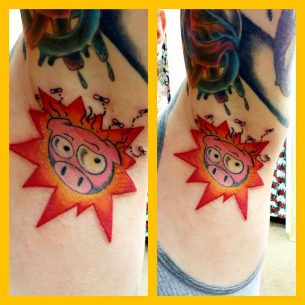 Biggy Bomb Tattoo