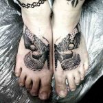 Butterfly Tattoo for Feet