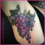 Grapes Tattoo