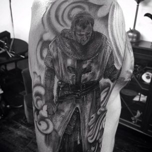 Knight Templar Tattoo