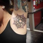Mandala Tattoo on Armpit