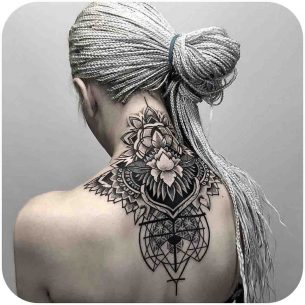 Nape Tattoo